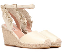 Wedges aus Leder