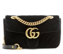 Tasche GG Marmont Mini aus Samt