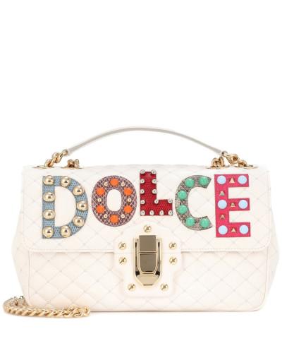 Dolce & Gabbana Damen Ledertasche Lucia Verkauf Veröffentlichungstermine Von Freiem Verschiffen Des Porzellans In Deutschland Verkauf Online Rabatt Komfortabel Auslass Wirklich zJ0RtrE