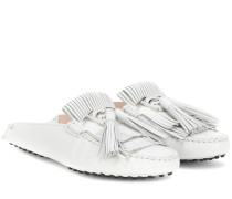 Loafers Gommino Fringe aus Leder