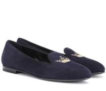 Loafers Ingrid aus Veloursleder