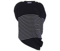 Asymmetrisches T-Shirt aus Wolle