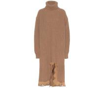 Rollkragenkleid aus Schurwolle
