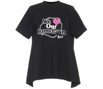 Bedrucktes Baumwoll-T-Shirt