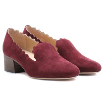 Pumps Lauren aus Veloursleder