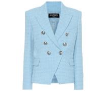 Blazer aus Tweed