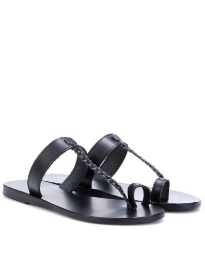 Ancient Greek Sandals Damen Pantoletten Melpomeni aus Leder #NAME? Outlet Limitierte Auflage Billig Verkauf Bestes Geschäft Zu Bekommen Steckdose Exklusive Billig Verkauf 2018 Unisex CJ06NzR