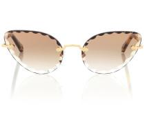 Cat-Eye-Sonnenbrille Rosie