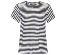 T-Shirt mit Seidenanteil