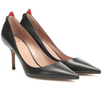 Pumps Rouge Bond aus Leder