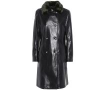 Mantel Sinclair mit Faux Fur