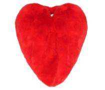 Mantel Heart aus Fuchspelz