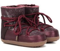 Boots Classic Low mit Lederanteil