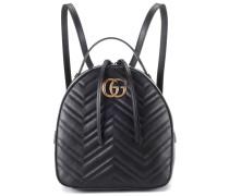 Rucksack GG Marmont aus Leder