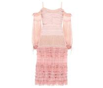 Off-Shoulder-Kleid mit Rüschen