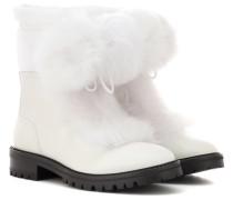 Stiefel Glacie Flat aus Leder