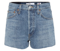 High-Rise Jeansshorts