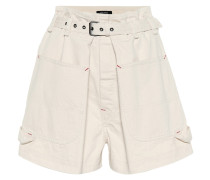 High-Rise Shorts Ike aus Baumwolle