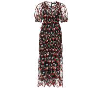 Besticktes Kleid aus Tüll