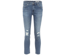 Mid-Rise Cropped Jeans The Prima