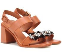 Sandalen Delaney aus Leder
