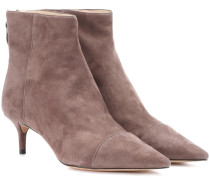 Ankle Boots Kittie aus Veloursleder