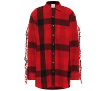 Oversize-Jacke aus Wolle