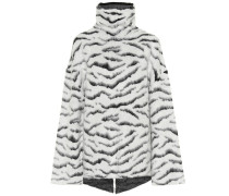 Oversize-Pullover mit Mohairanteil