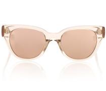 Sonnenbrille 653 C5 mit Roségoldauflage