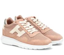 Sneakers H371 mit Veloursleder