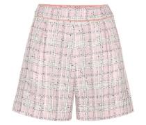 Shorts aus Tweed