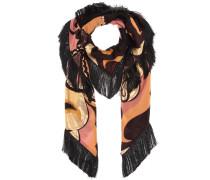 Schal aus Seiden-Jacquard