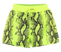 Bedruckte Shorts aus Nylon