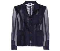 Semi-transparente Jacke aus Tüll