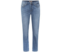 Mid-Rise Cropped Jeans Asher