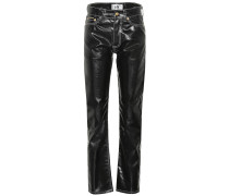 High-Rise Jeans Cypress Tar
