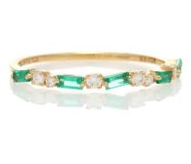 Ring Ruby Half Eternity aus 18kt Gold