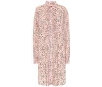 Hemdblusenkleid aus Popeline