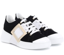 Sneakers Viv Skate aus Samt