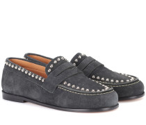 Exklusiv bei Mytheresa – Loafers Fenzay aus Veloursleder