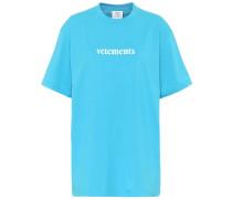 T-Shirt mit Baumwollanteil