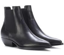 Chelsea Boots Theo 45 aus Leder
