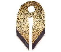 Bedruckter Schal mit Cashmere-Anteil