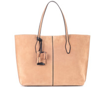 Shopper Joy Large aus Veloursleder