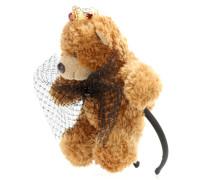 Verzierter Haarreif mit Teddybär