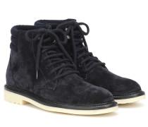 Ankle Boots Icer Walk aus Veloursleder