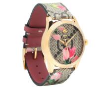 Uhr G-Timeless aus Leder