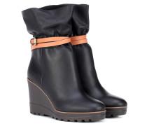Ankle Boots Robin aus Leder