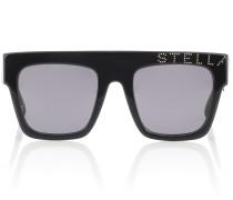 Verzierte Sonnenbrille aus Acetat