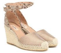 Espadrille-Wedges Rockstud Double